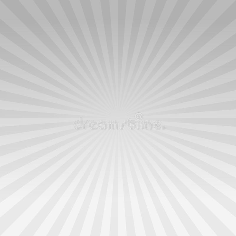 Abstract light Gray gradient rays background. Vector EPS 10 cmyk royalty free illustration