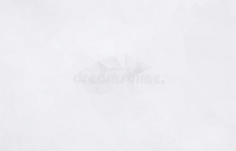 Abstract Light gray mosaic background. Eps.10 royalty free illustration
