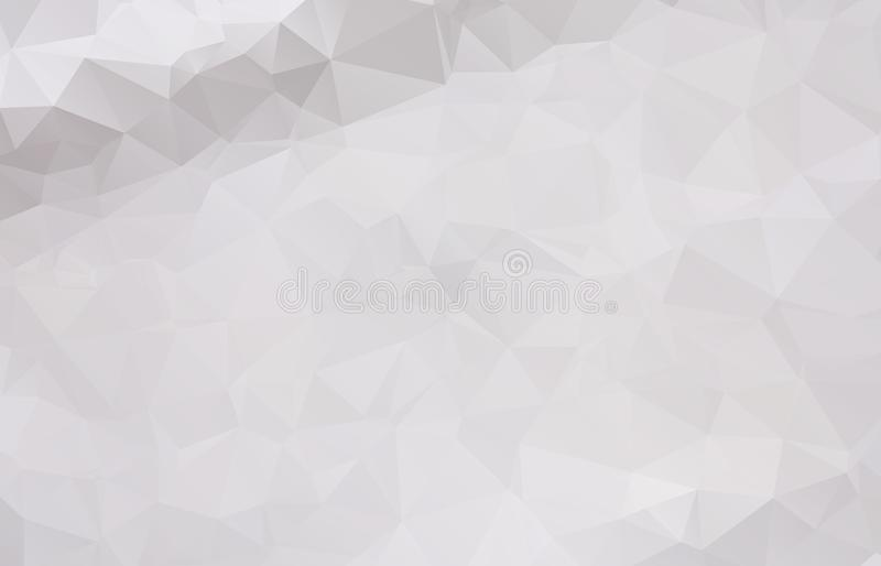 Abstract Light gray mosaic background. Eps .10 vector illustration