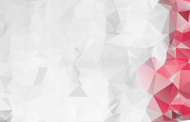 Abstract Light gray mosaic background. Eps. 10 royalty free illustration
