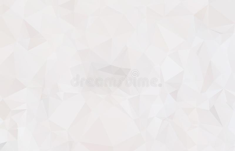Abstract Light gray mosaic background. Eps. 10 stock illustration