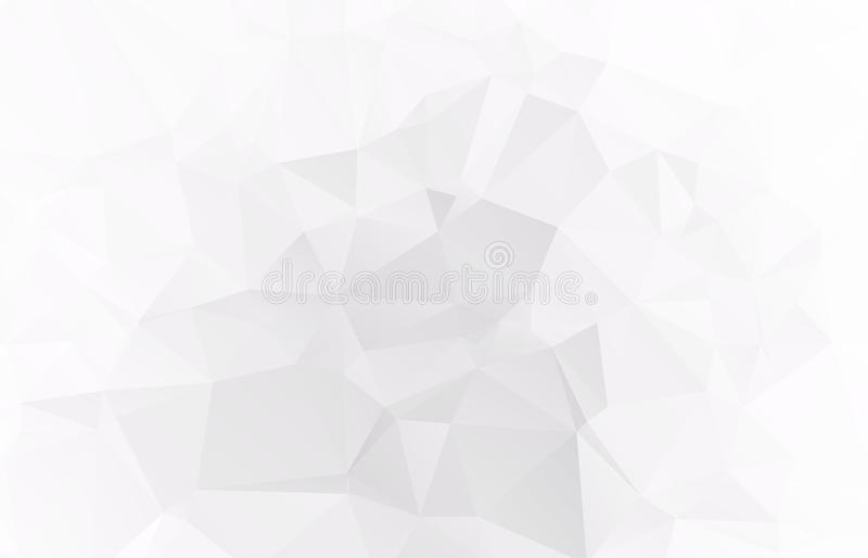 Abstract Light gray mosaic background. Eps royalty free illustration