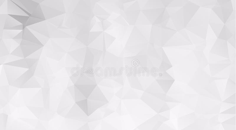 Abstract Light gray mosaic background. Eps.10 stock illustration