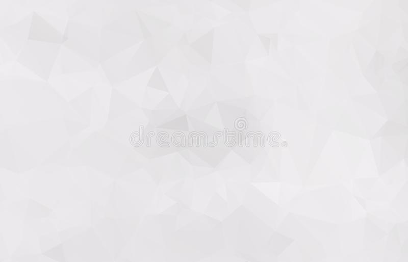 Abstract Light gray mosaic background. Eps. 10 vector illustration