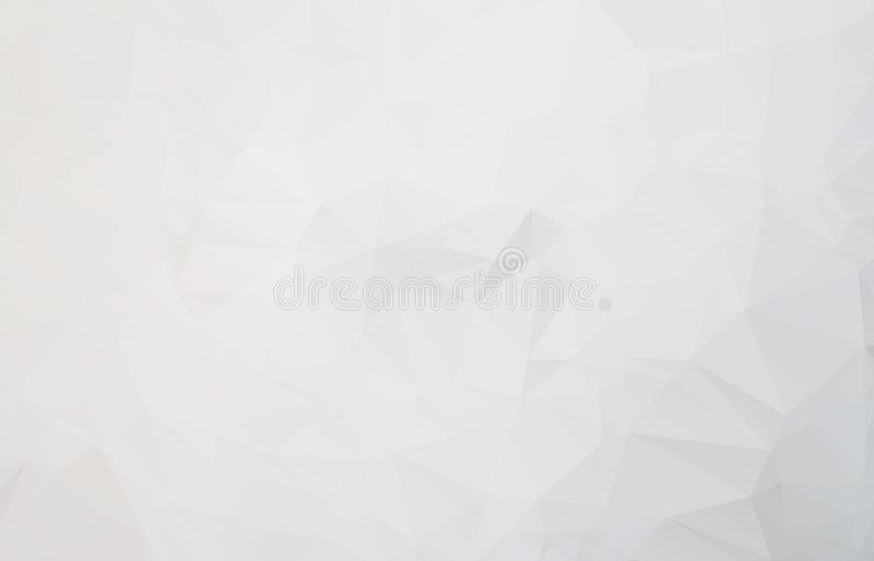 Abstract Light gray mosaic background. Eps vector illustration