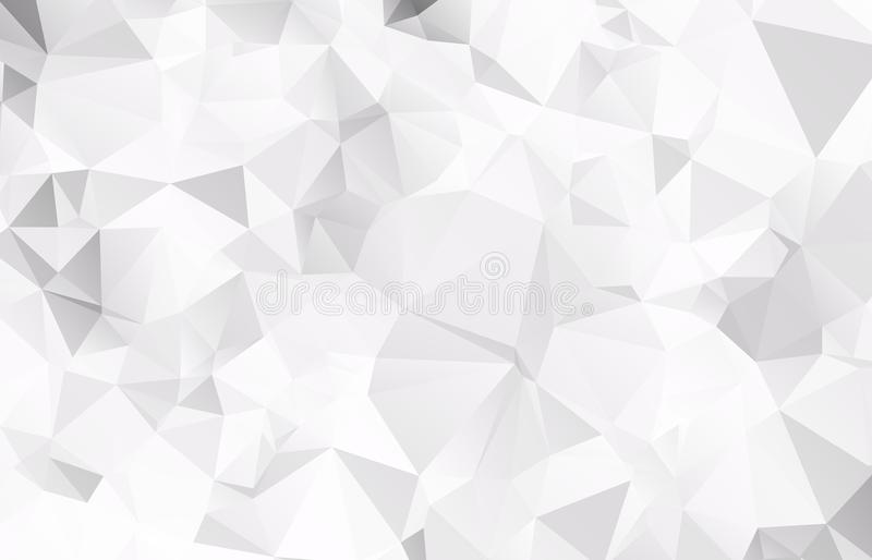 Abstract Light gray mosaic background. Eps stock illustration
