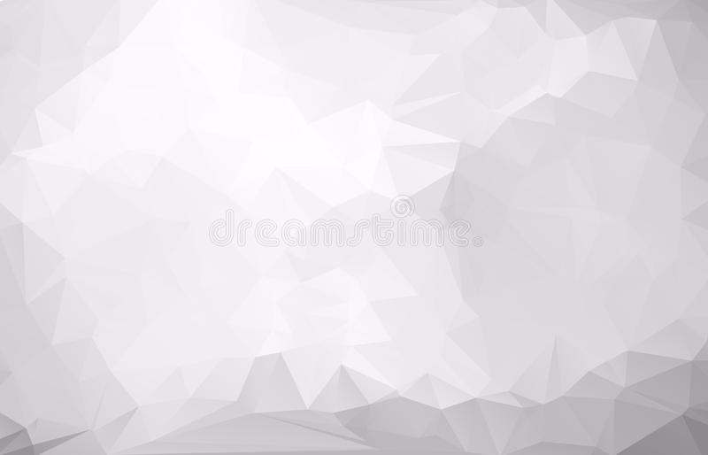 Abstract Light gray mosaic background. Eps .10 royalty free illustration