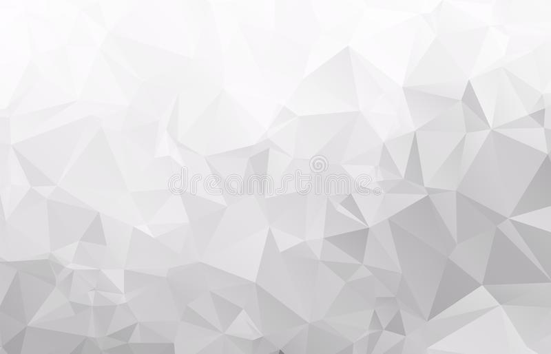 Abstract Light gray mosaic background. Veps .10 stock illustration