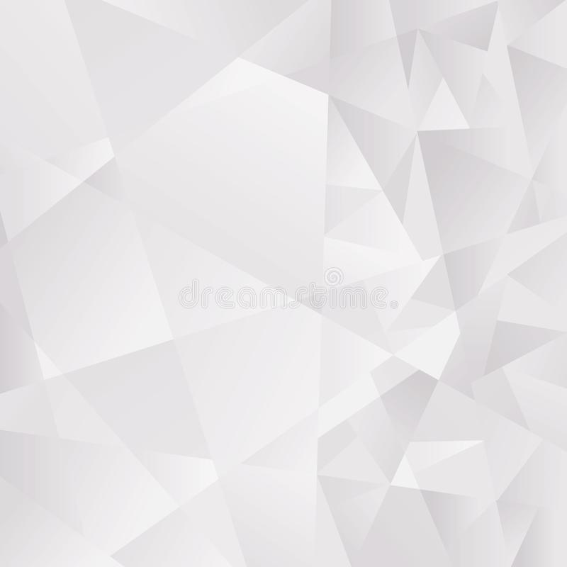 Abstract light Gray polygonal background. Vector EPS 10 cmyk vector illustration