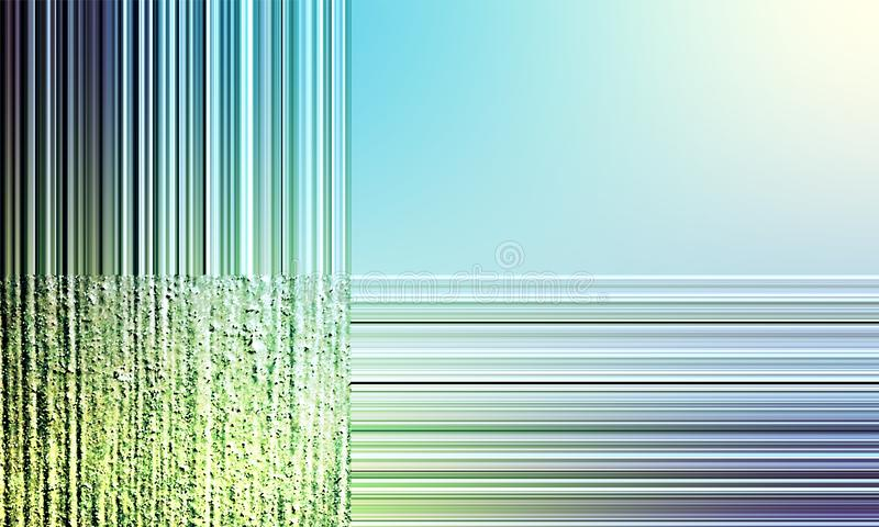 Abstract light green and white horizontally and vertically stripes texture background. Abstract light green and white  horizontally and vertically stripes royalty free illustration