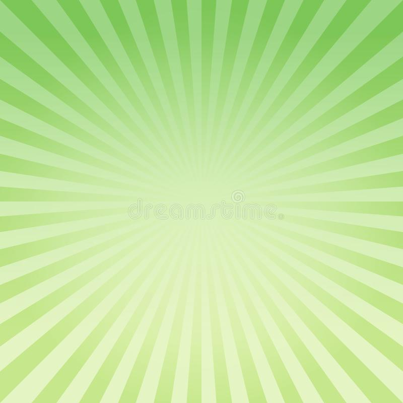 Abstract light Green Yellow gradient rays background. Vector EPS 10 cmyk stock illustration