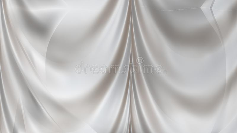 0429e72581323 Abstract Light Grey Satin Curtain Background. Beautiful elegant  Illustration graphic art design stock illustration