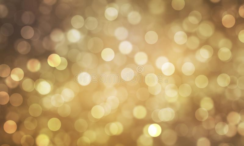 Abstract light Heart bokeh background, Christmas lights, Blurry lights, Glitter sparkle, Valentine Festival royalty free illustration