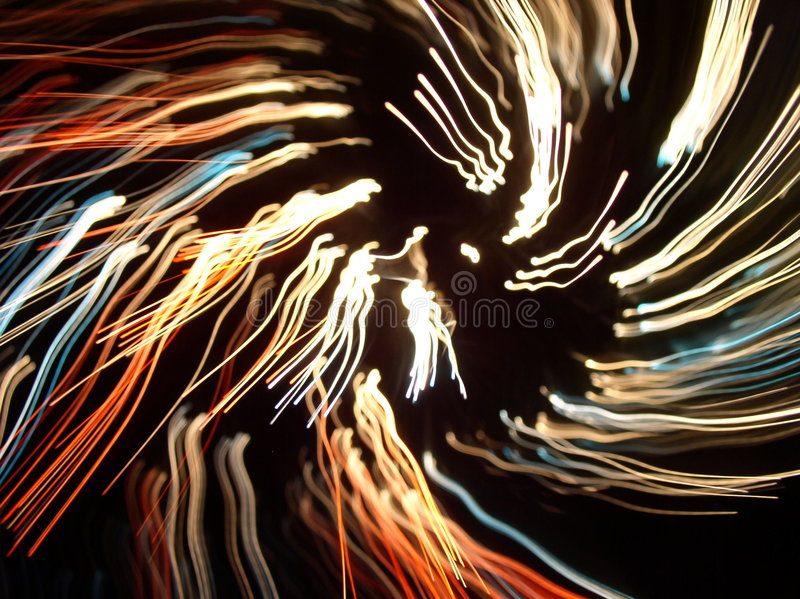 Abstract light lines stock photography