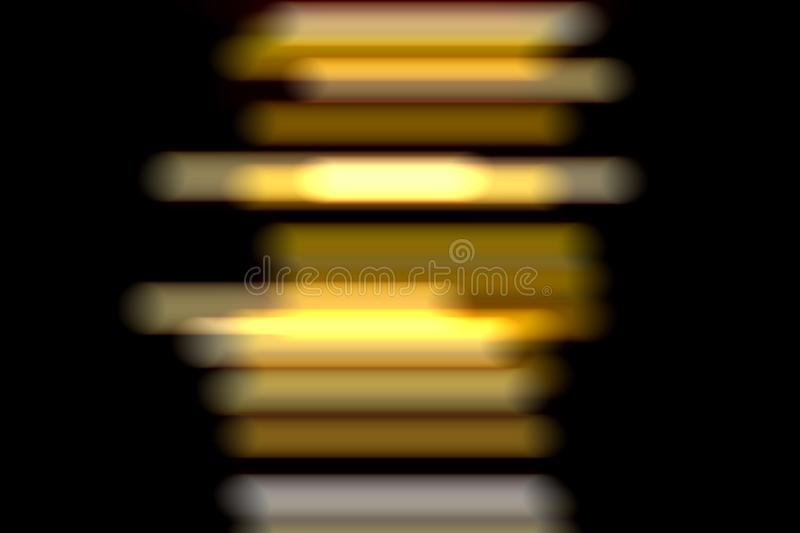 Abstract light lines on a dark background. Slow shutter speed. Abstract light lines on a dark background, business, design, party, texture, bright, color royalty free stock photos