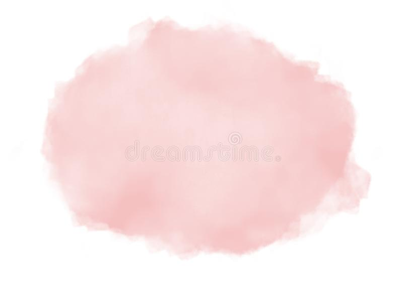 abstract light peach pastel pink watercolor splash on white background stock illustration illustration of color brush 159362884 abstract light peach pastel pink