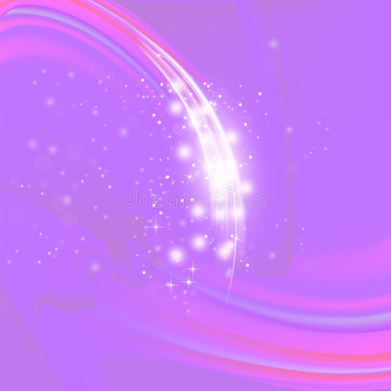 Abstract Light Pink Wave Background vector illustration