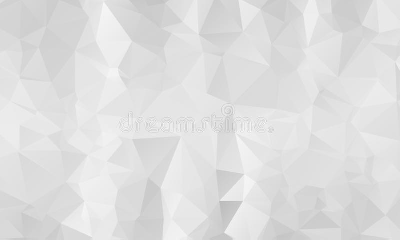 Abstract Light Silver, Gray vector polygon abstract template. Triangular geometric sample with gradient. A completely new template. For your business design royalty free illustration