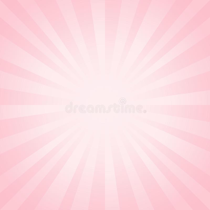 Abstract light soft Pink rays background. Vector vector illustration