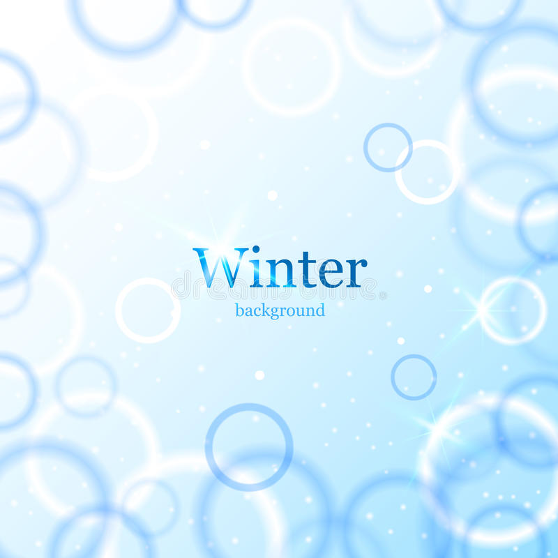 Download Abstract Light Winter Background Stock Illustration - Image: 34717907