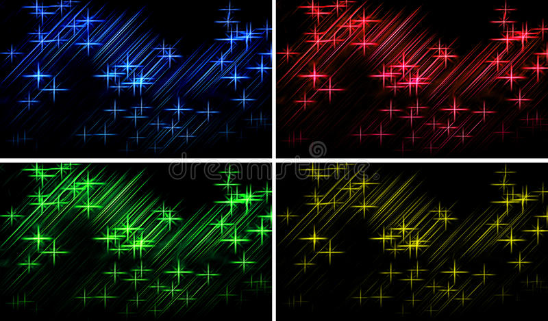 Abstract lights background royalty free illustration