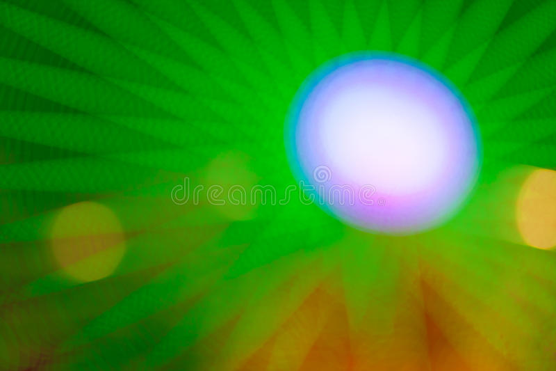 Abstract lights. Composition of several different blurred colour abstract lights royalty free stock photos