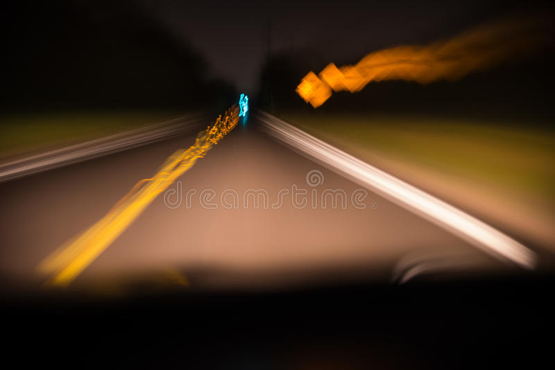 Abstract blurred motion driving at royalty free stock images