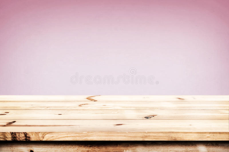 Abstract lights gradient blurred background. Empty wood table ready for your product display montage. Abstract lights gradient blurred background stock images