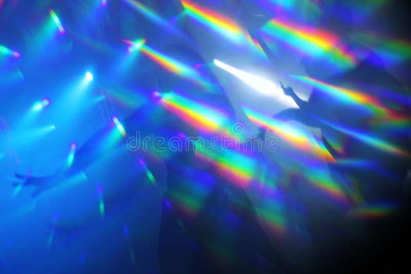 Download Abstract Lights Nightclub Dance Party Background Stock Image