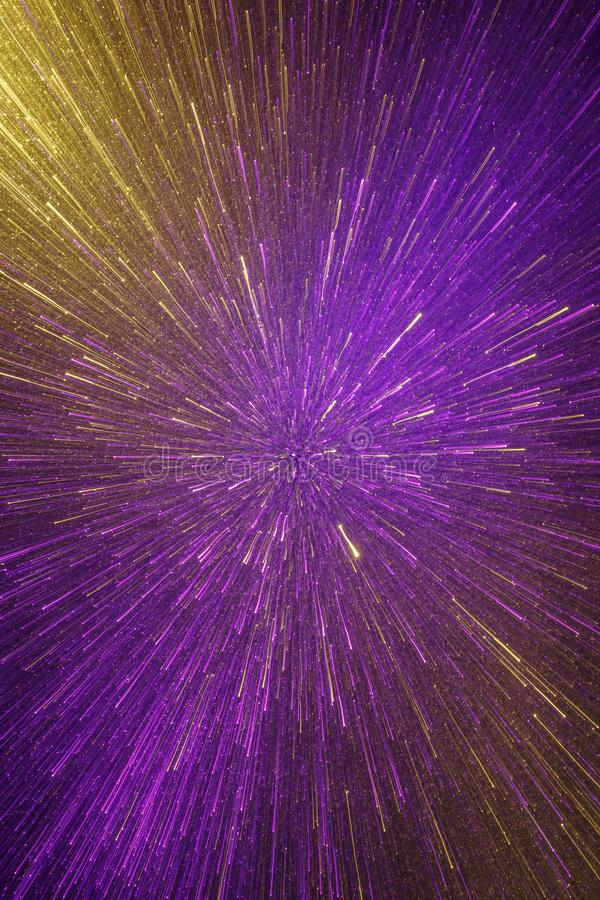 Abstract lights texture. Abstract lights background. Photograph of moving glitter lit up with light stock image
