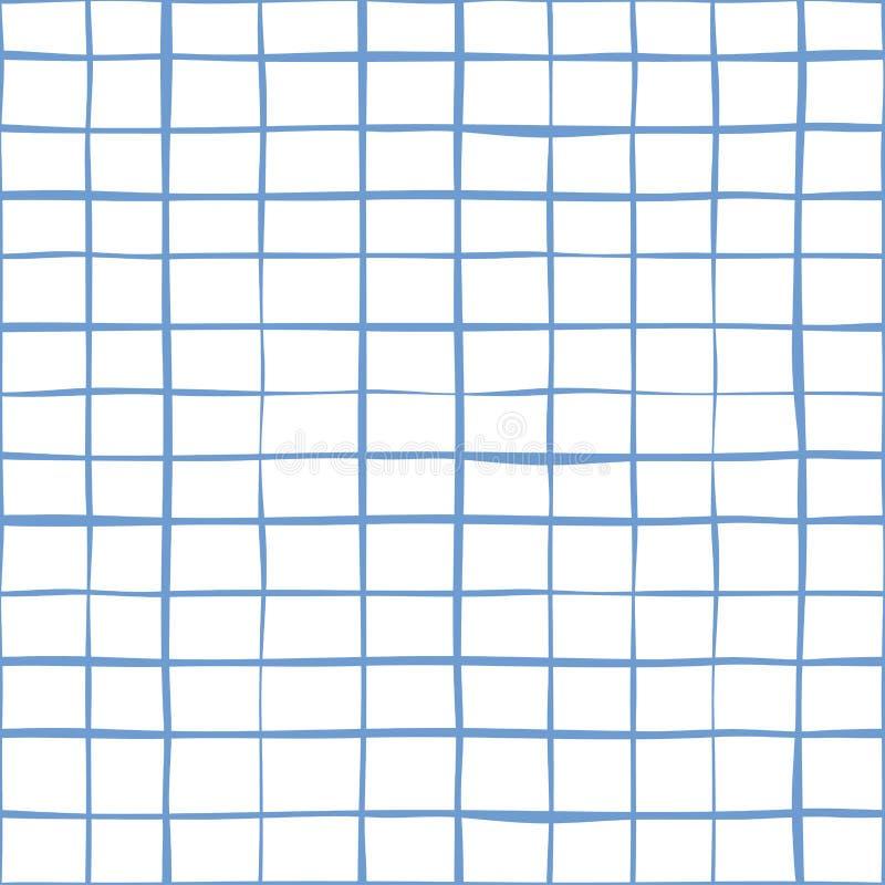 Abstract lijn naadloos patroon als achtergrond vector illustratie