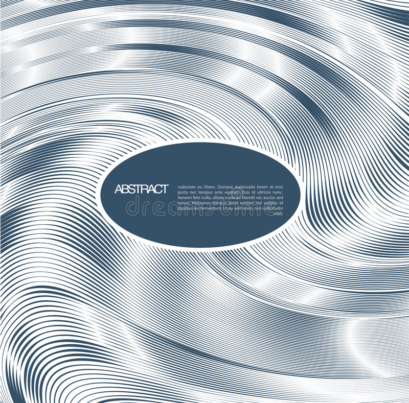 Abstract line background. Design template stock illustration