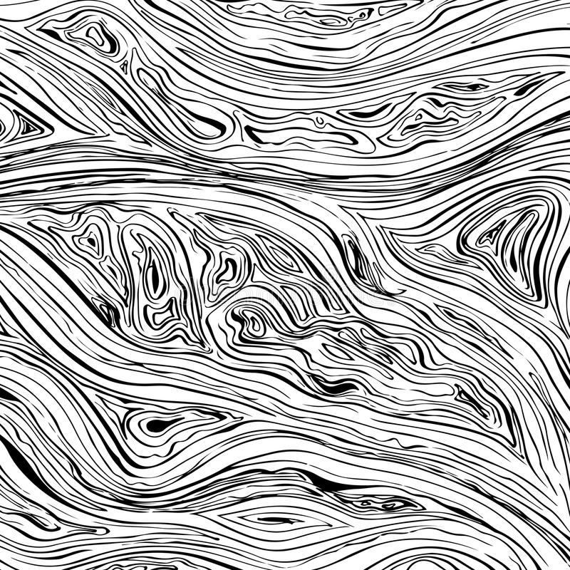 Abstract line background. Vector texture with hand drawn ink wavy strokes vector illustration