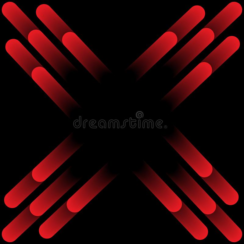 Abstract line, dot, circle pattern background. stock illustration