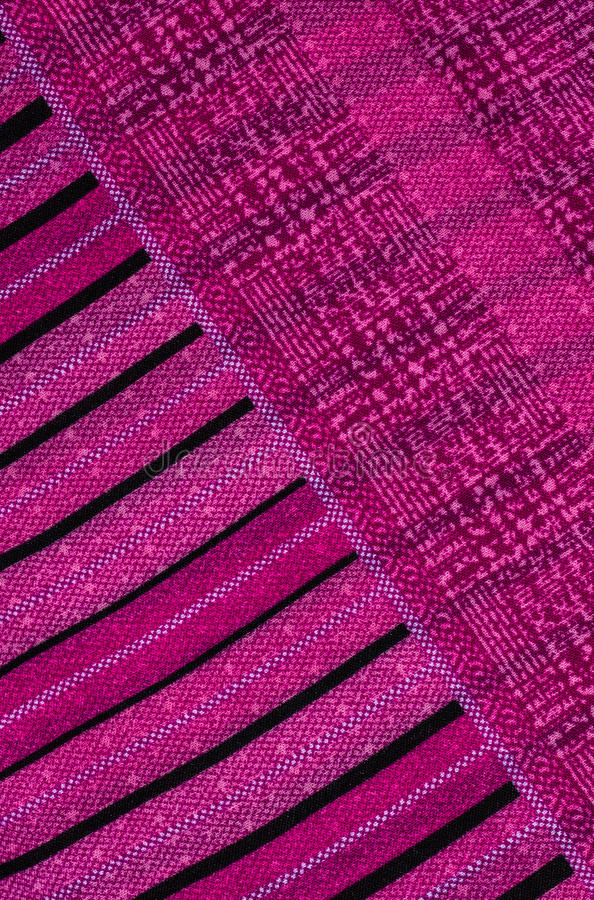 Abstract line fabric. Purple abstract line fabric background royalty free stock photo