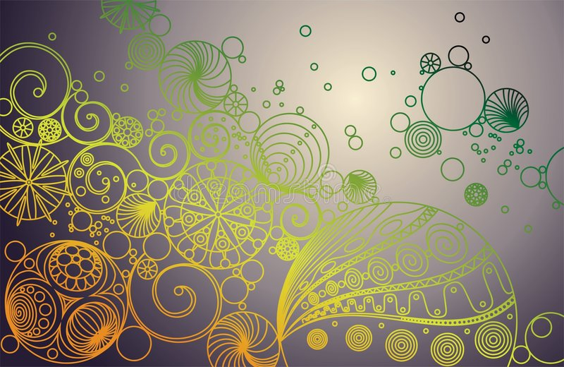 Download Abstract line ornament stock vector. Image of pattern - 7622337