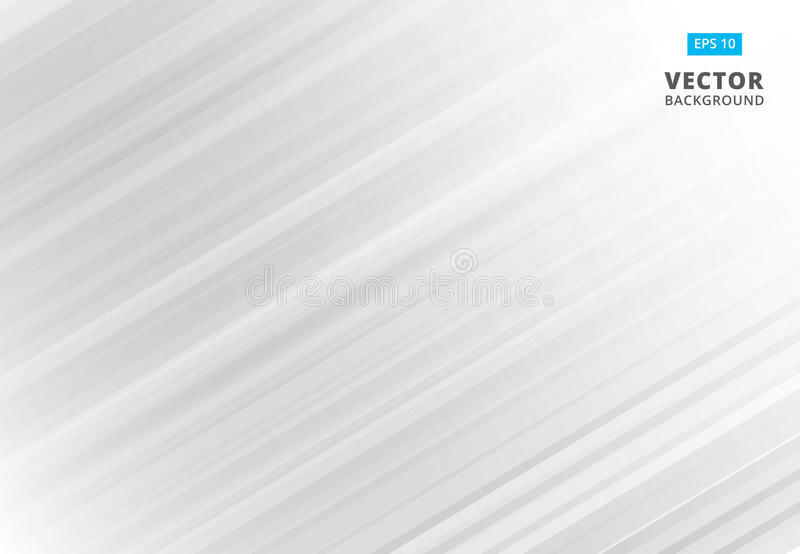 Abstract line pattern white and gray Background with Stripes. Vector Illustration. Copy space vector illustration