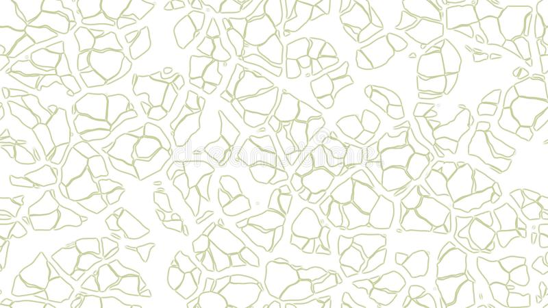 Abstract lines background. Crack ground wallpaper. Art mosaic backgrounds. Colorful cracked wall vector illustration