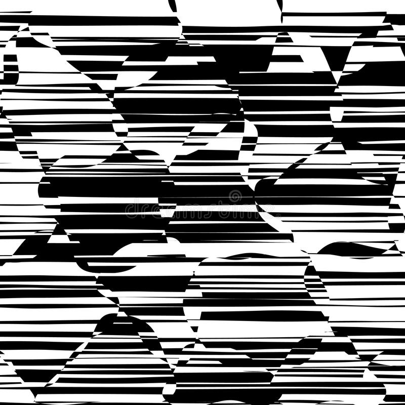 Download abstract lines design black and white stripes vector stock vector illustration of geometric