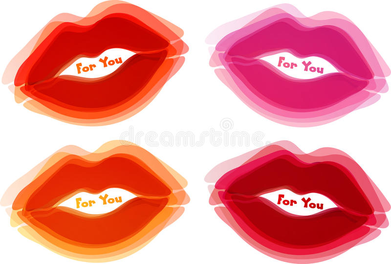 Download Abstract lips background stock vector. Image of bubble - 20836017