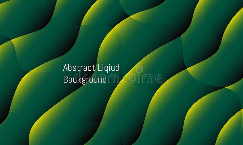 Abstract liquid gradient wave. colorful beautiful background design. vector illustration eps10 royalty free illustration