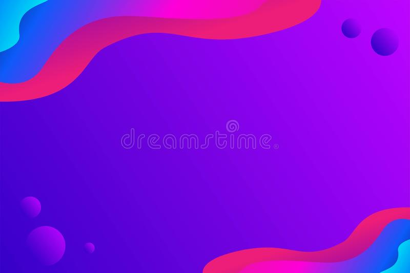 Abstract Liquid Vector Background, Modern Background, Unique Background. vector illustration