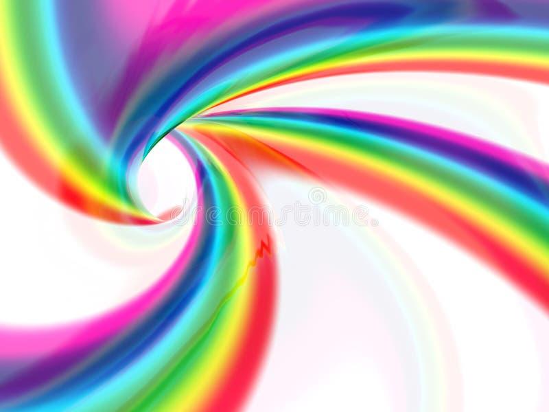 Abstract liquid vortex royalty free illustration