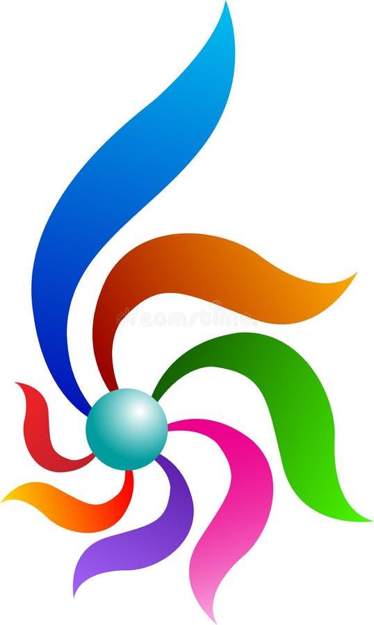 Abstract logo vector illustration