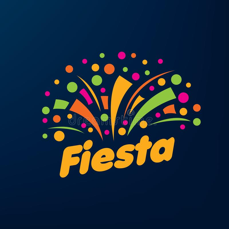 Free Abstract Logo For The Fiesta. Vector Illustration. Royalty Free Stock Photos - 128571288