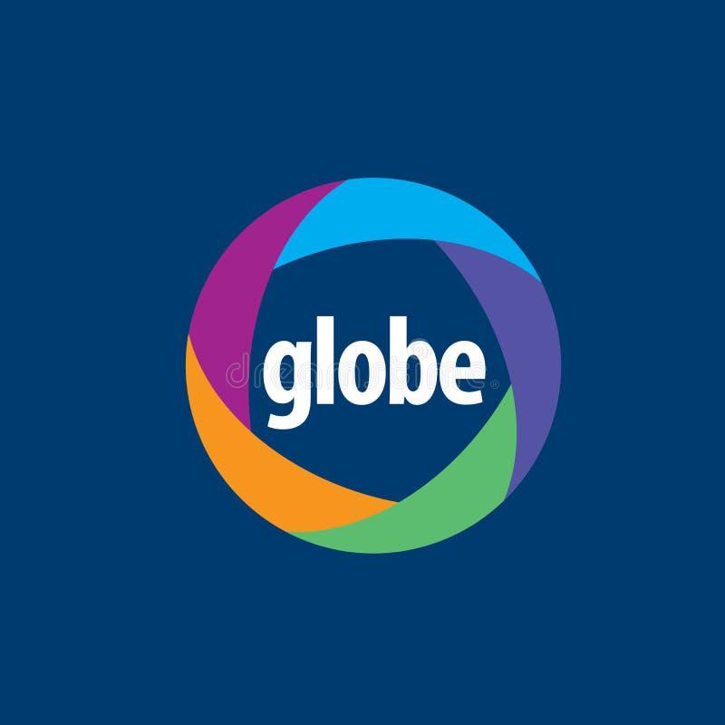 Abstract logo Globe royalty free illustration