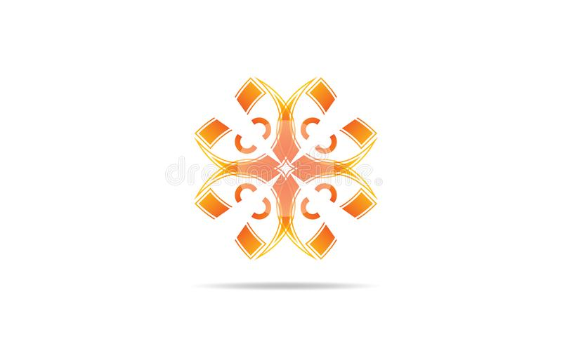 Abstract Logo Icons Design Vector - Creatief Bedrijf Logo Template stock illustratie