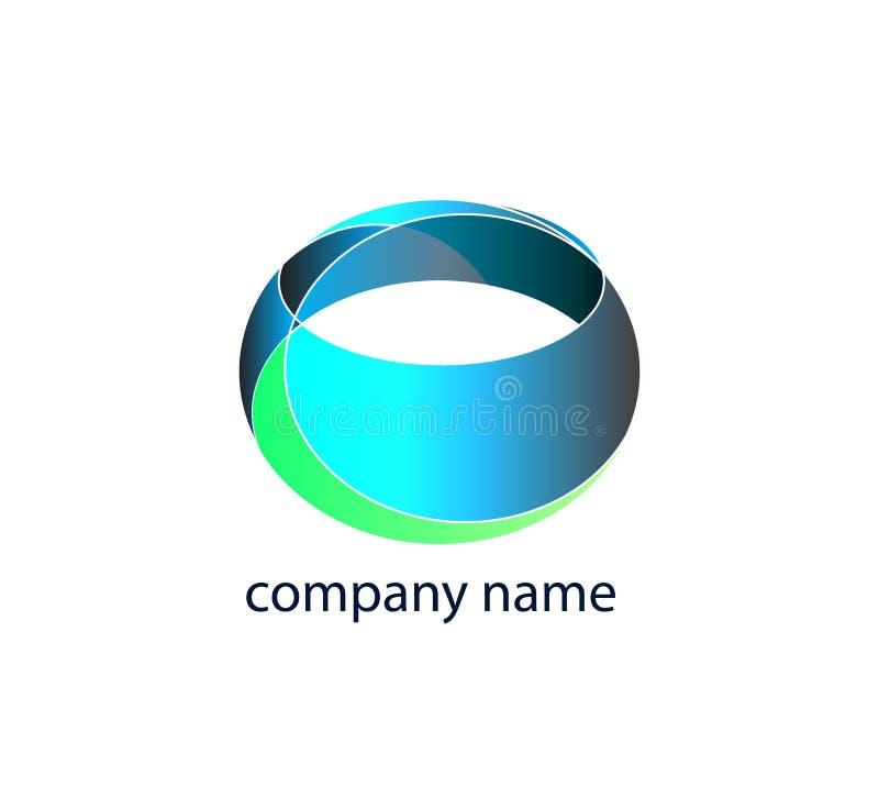 Abstract Logos stock illustration