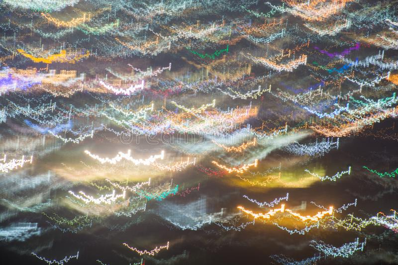 Abstract long exposure royalty free illustration