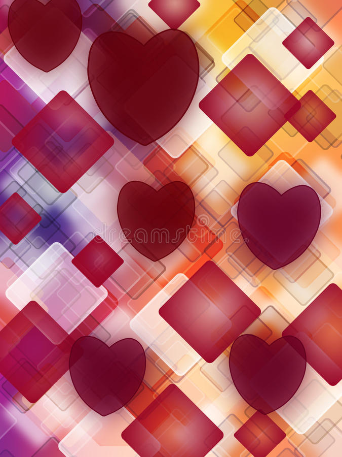 Abstract love royalty free stock image